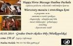 2 marzec 2014 Warsztaty masażu i stretchingu koni!