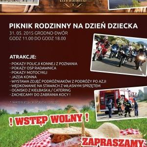 Piknik Rodzinny - Dzień Dziecka 2015